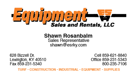 Contact Shawn Rosanbalm