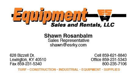 Contact Shawn Rosanbalm