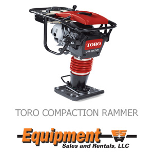 Toro Compaction Rammer