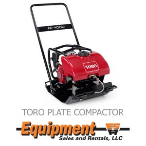 Toro Plate Compactor