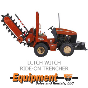 Ditch Witch Ride-On Trencher