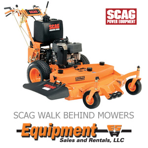 SCAG Walk Behind Mowers