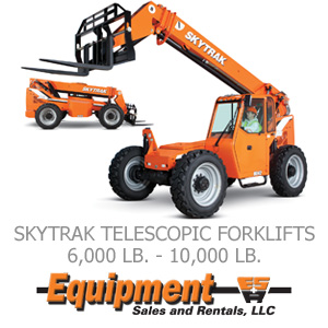 Skytrack Telescopic Forklifts
