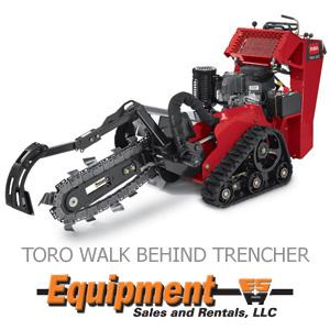 Toro Walk Behind Trencher