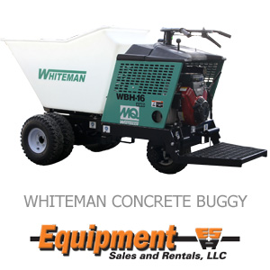 Whiteman Concrete Buggy