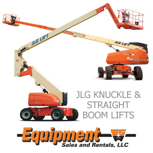 JLG Knuckle and Straight Boom Lifts