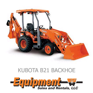 Kubota B21 Backhoe