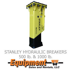 Stanley Hydraulic Breakers
