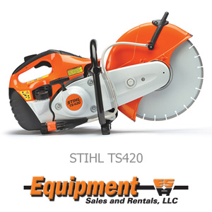 stihl concrete saw ts420