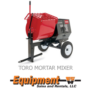 Toro Mortar Mixer