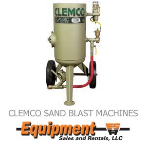 Clemco Sand Blast Machines