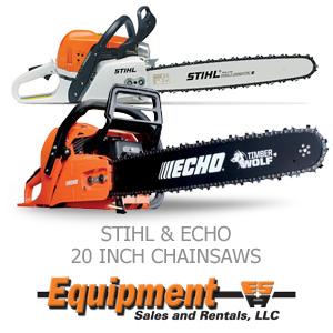 Stihl & Echo 20 Inch Chainsaws